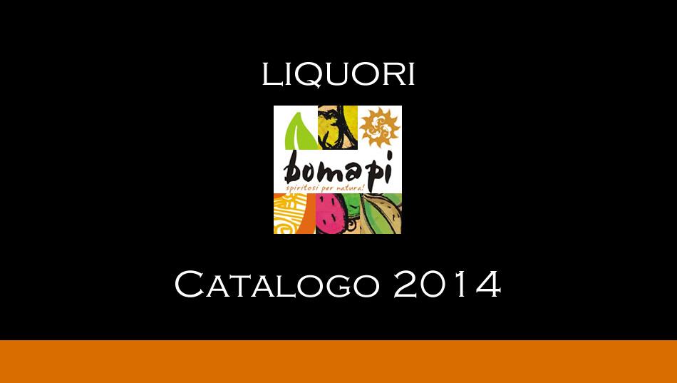 Catalogo Liquori Bomapi