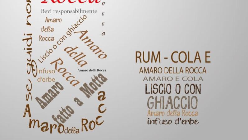 Locandina Amaro della Rocca