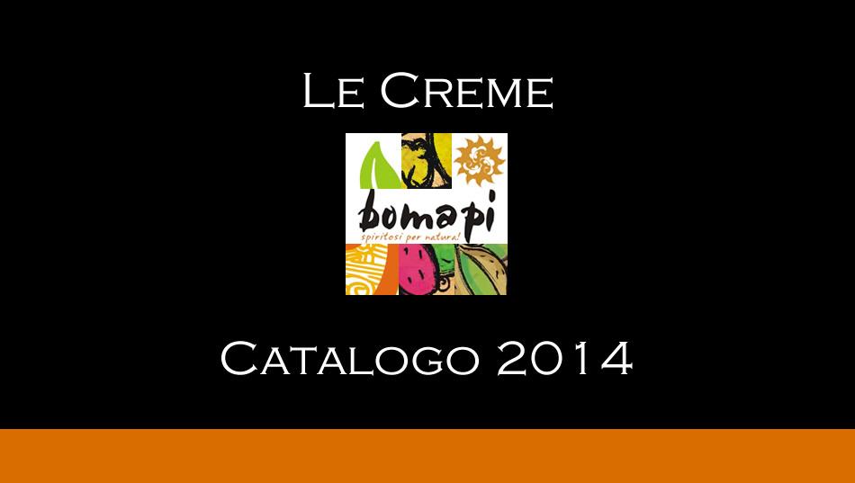 Catalogo Creme Liquorose Bomapi