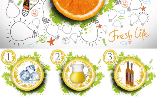 Rosolio di Arancia, Cocktails fresco e profumato