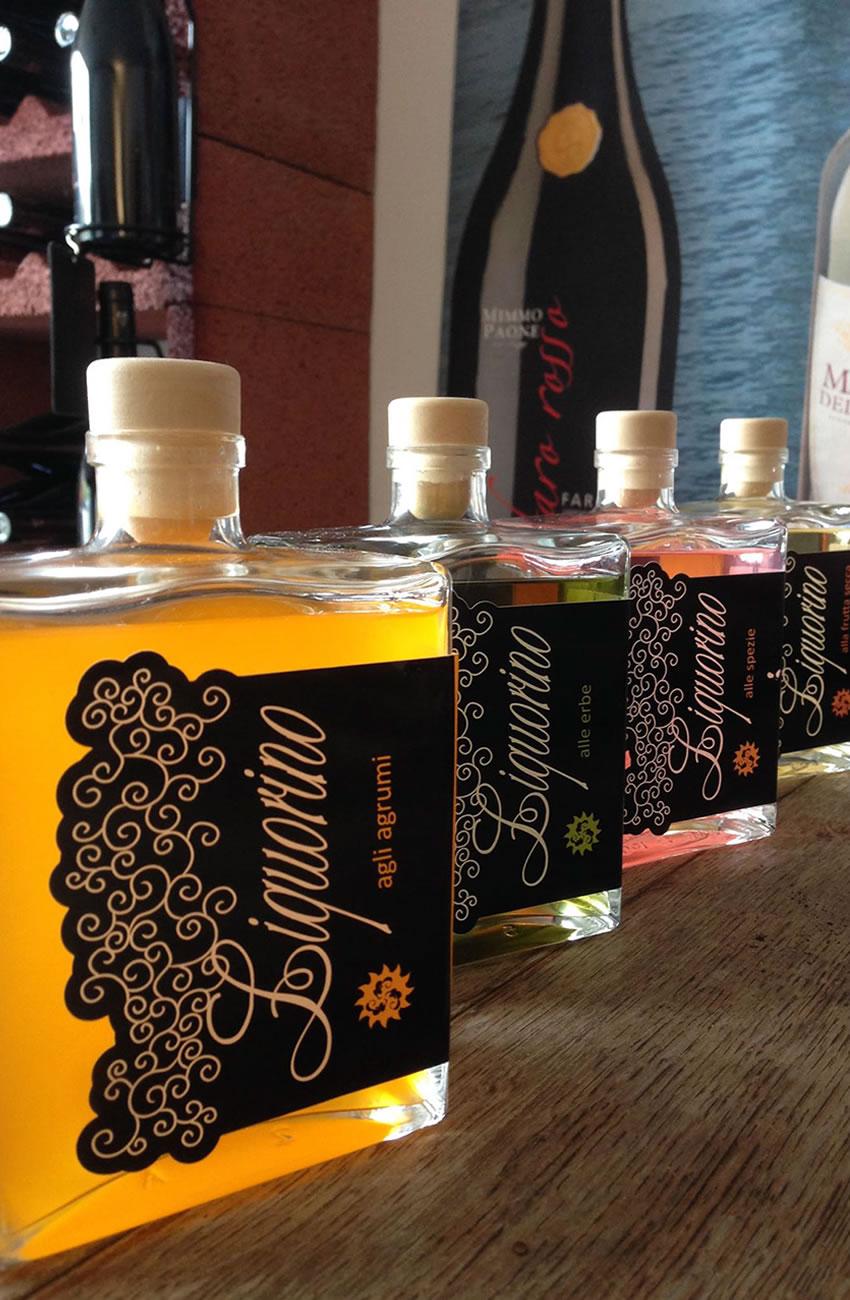 Liquorini, Agrumi, Erbe, Spezie, frutta Secca, Liquorino