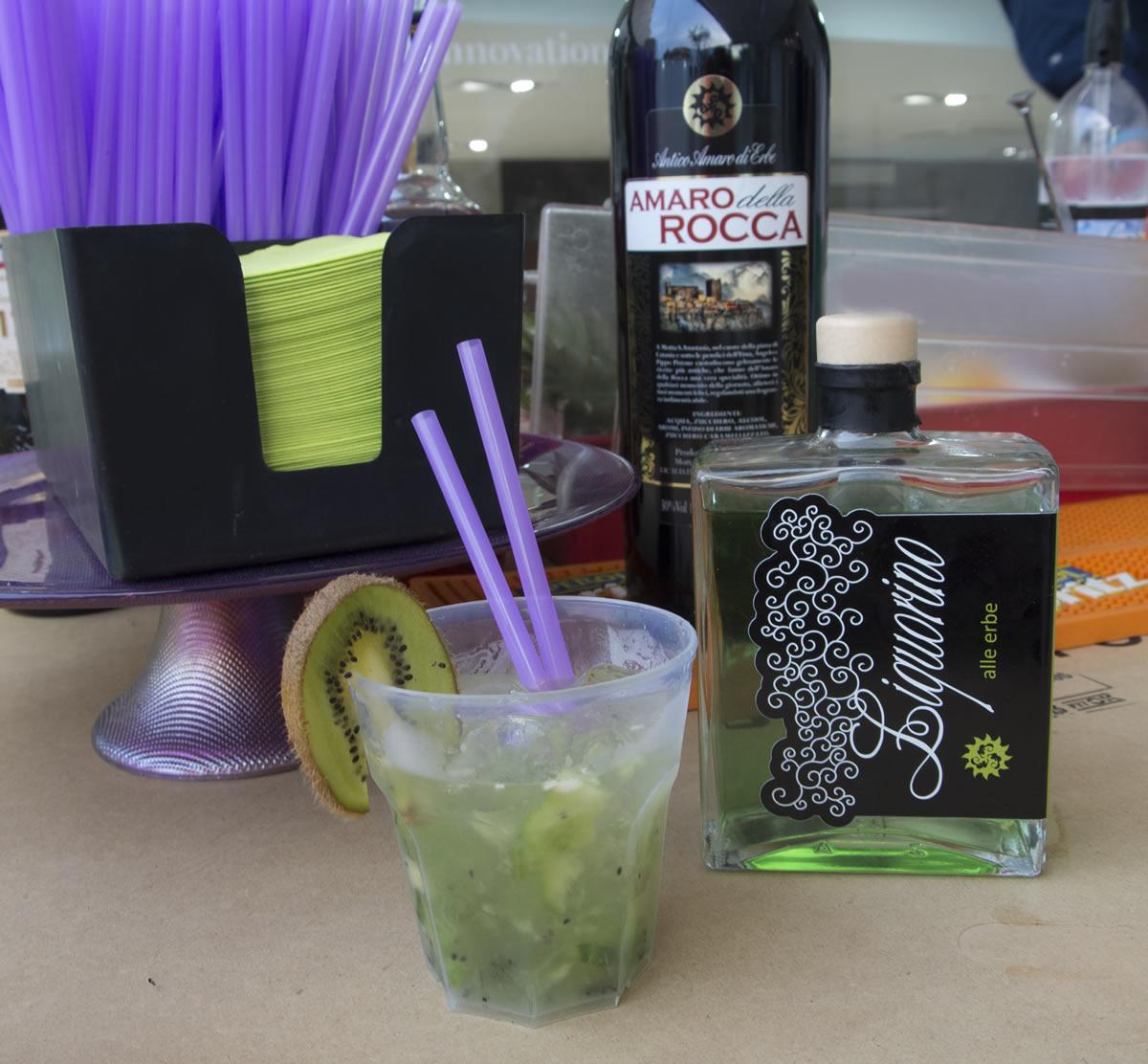 Cocktail Liquorino alle Erbe